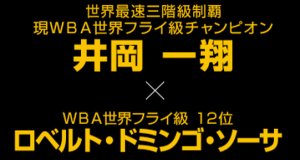 井岡一翔 WBA世界フライ級王座初防衛!3階級制覇王者の宿命