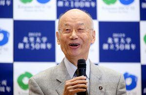ノーベル医学生理学賞受賞 大村 智教授の重みのある言葉