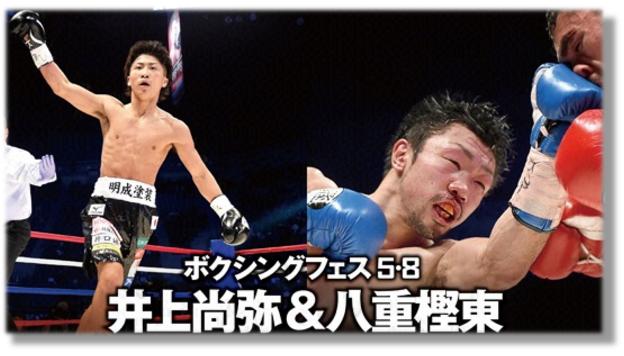 BOXING『八重樫東&井上尚弥』Wタイトルマッチ感想!過去の衝撃KO負け!思い出